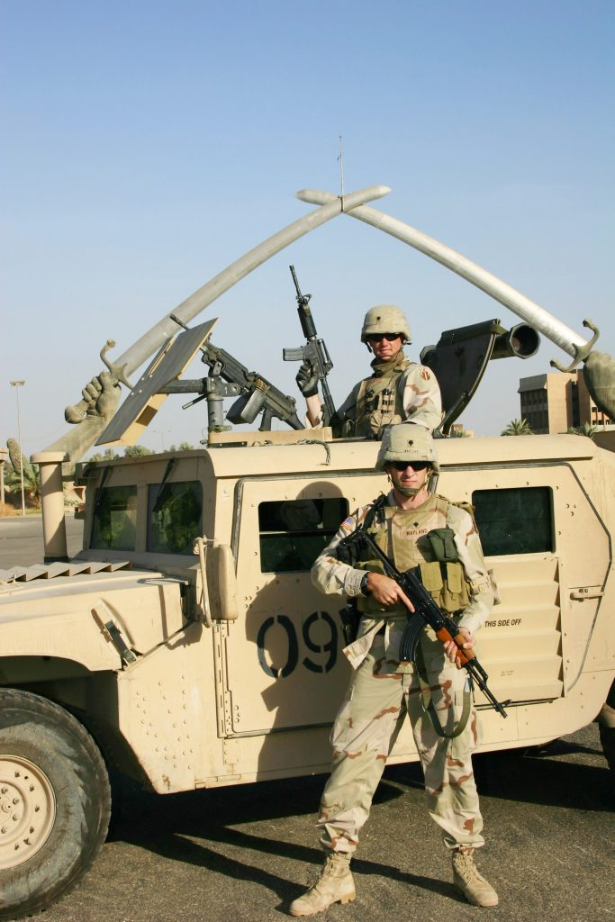 Kc Serving in Iraq 03-04